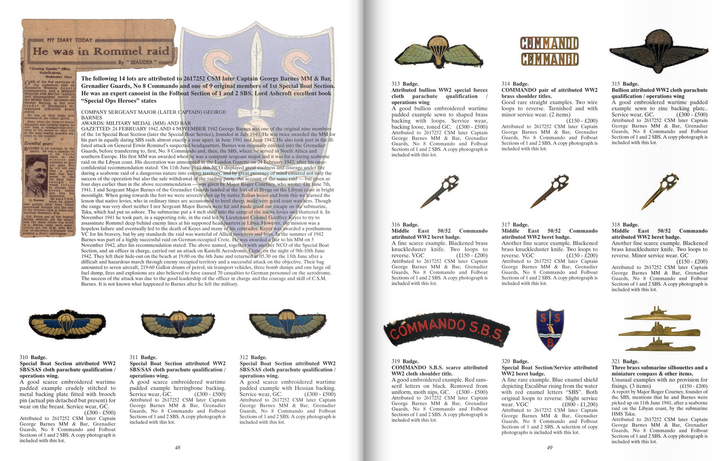 Bosleys Specialist Military and Medal Auctioneers